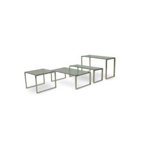 Calvin Glass End Table by sohoConcept