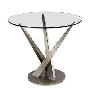 Elite Modern Crystal Bistro Table
