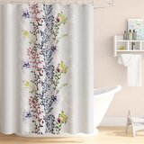Dahlia Shower Curtain Wayfair