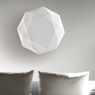 Morosini Diamond 2-Light Flush Mount