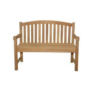 Chelsea 2-Seater Teak Garden Bench by Anderson Teak #1