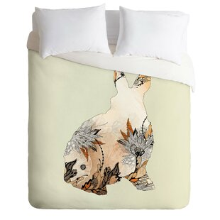 East Urban Home Little Rabbit Duvet Cover Set