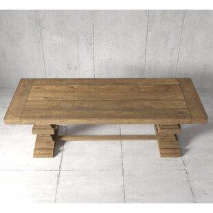 Gracie Oaks Mccubbin Solid Wood Dining Ta..