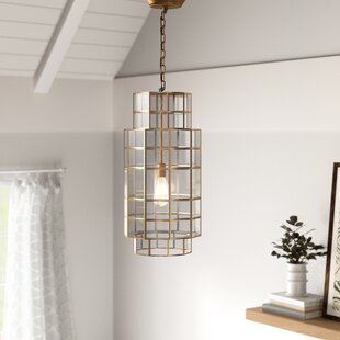 Artemas 1-Light Geometric Pendant by Mistana