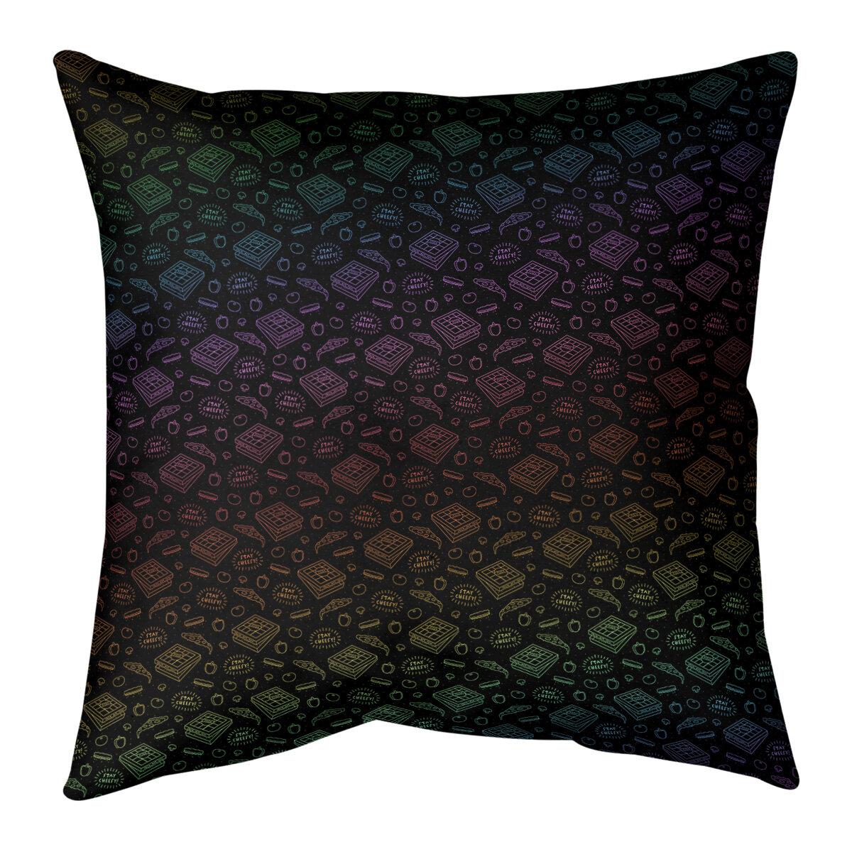Artverse Katelyn Elizabeth Pizza Throw Pillow Wayfair