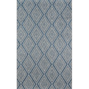 Madcap Cottage by Momeni Lake Palace Rajastan Weekend Blue Indoor/Outdoor Area Rug 2' X 3