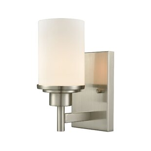 Kalyn 1-Light Bath Sconce by Charlton Home