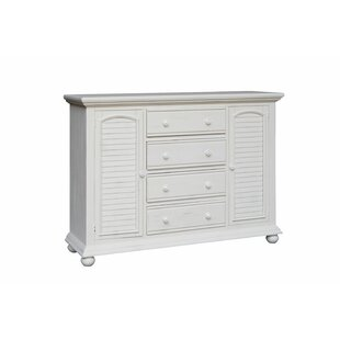 Rosecliff Heights Laguna 4 Drawer Combo Dres..