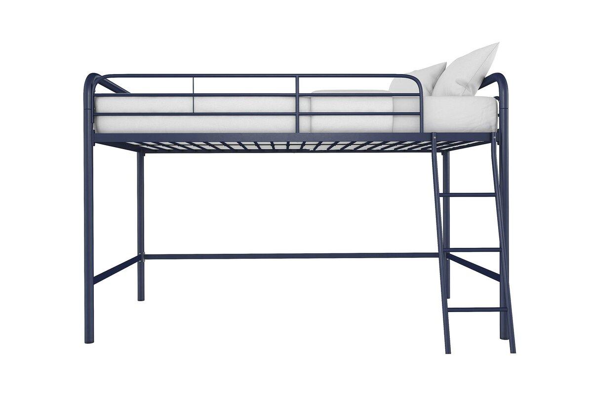Viv + Rae Myron Junior Twin Low Loft Bed & Reviews   Wayfair