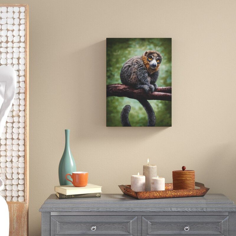 Monkey lima art painting canvas  hand painted framed animal quality licensed