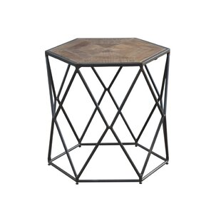 Ivy Bronx Caryl Hex End Table