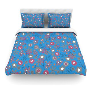 Meadow by Michelle Drew Paisley Featherweight Duvet Cover