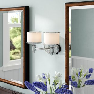 Price comparison Midvale 2-Light Vanity Light By Andover Mills