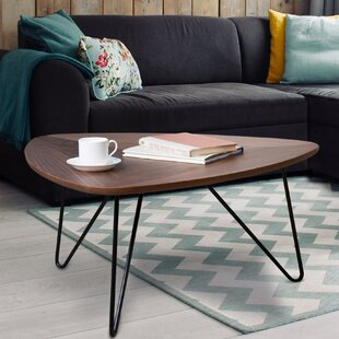 Alicia Coffee Table with Tray Top by Union Rustic