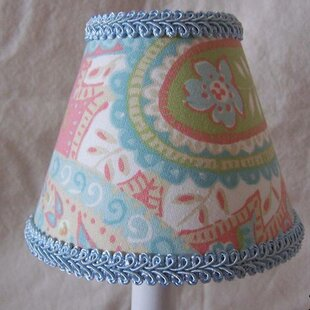 Morning Glory 11 Fabric Empire Lamp Shade