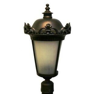 Buy luxury Petrey 3 Light 22.5 Post Lantern By Alcott Hill