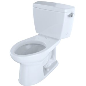 Drakeu00ae Dual Flush Elongated Two-Piece Toilet