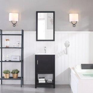 Mattis 20 Single Bathroom Vanity Set with Mirror by Gracie Oaks