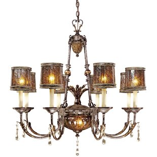 Metropolitan by Minka Sanguesa 9-Light Shaded Chandelier