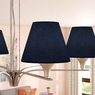 6 Suede Empire Lamp Shade