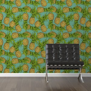 Crazy Pineapples Removable 10' x 20