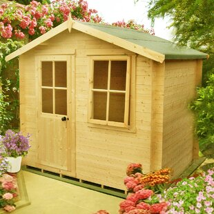 Poff 9.5 X 9 Ft. Tongue & Groove Summer House By Sol 72 Outdoor