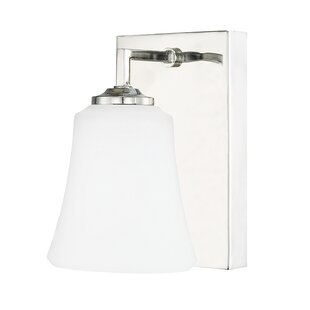 Charlton Home Walworth 1-Light Bath Sconce