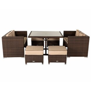 Fletcher 8 Seater Rattan Sofa Set By Sol 72 Outdoor