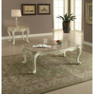 Astoria Grand Wensley 2 Piece Coffee Table Set