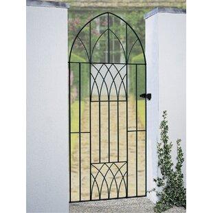 Guero Tall Bow Garden Garden Metal Gate By Rosalind Wheeler