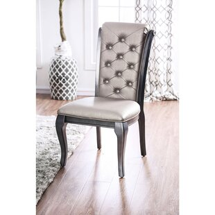 Hitterdal Upholstered Dining Chair Set of 2 by House of Hampton