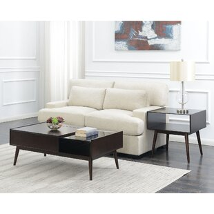 Corrigan Studio Ibrahim 2 Piece Coffee Table Set