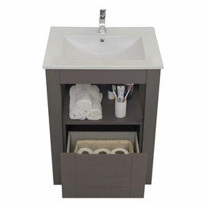 Linebath 61 cm Waschtisch Pure