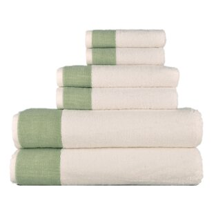 Joss & Main Essentials 6-Piece Towel Set