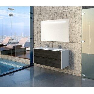 Agatha 1200mm Wall Mount Vanity Unit by Belfry Bathroom