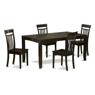 Lynfield 5 Piece Dining Set by East West Furniture Herry Up