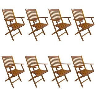 Alrun Stacking Garden Chair (Set Of 8) By Sol 72 Outdoor