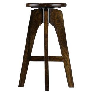 Adjustable Height Swivel Bar Stool by Bar..