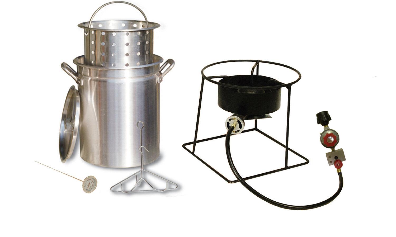 King Kooker Turkey Fryer And Steamer Outdoor Cooker Package Reviews Wayfair