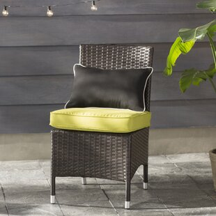 Orion Patio Dining Chair with Cushion (Set of 2)