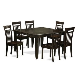 Pilning 7 Piece Wood Dining Set