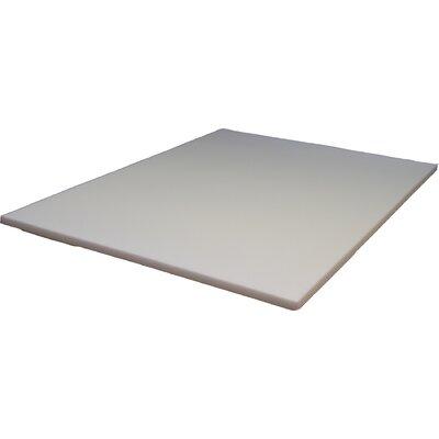 "1.5"" Based Firm Foam Mattress Topper Strobel Mattress Size: Twin XL"