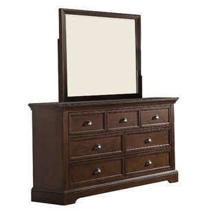 Reviews Appleby 7 Drawer Dresser with Mirror by Greyleigh