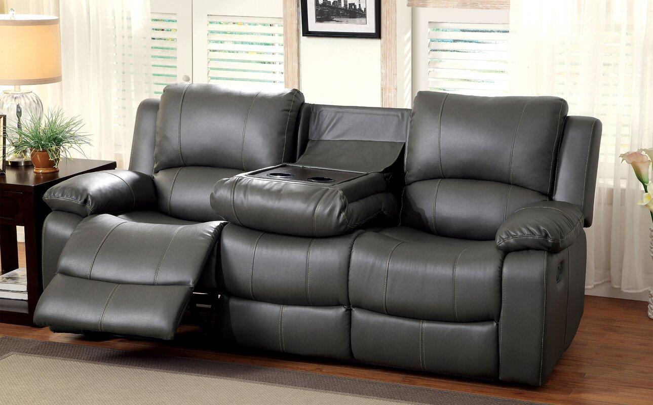 Wellersburg Leather Reclining Sofa