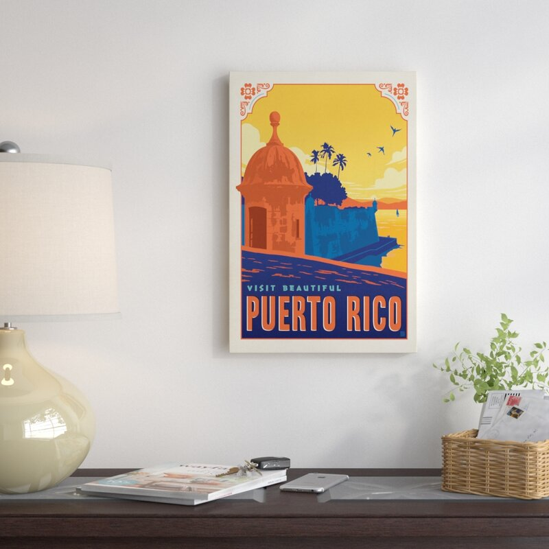 East Urban Home World Travel Collection: Commonwealth of Puerto Rico ...