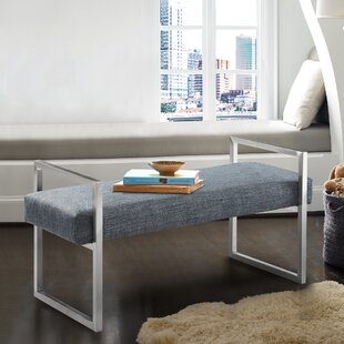 Orren Ellis Steinman Upholstered Bench