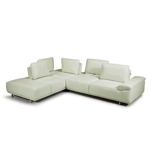 Roxanne Leather Sectional