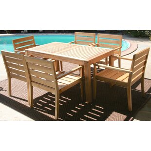 Trijaya Living Waterford 7 Piece Teak Din..