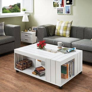 Zamir Appealing Coffee Table with Storage by Red Barrel Studio