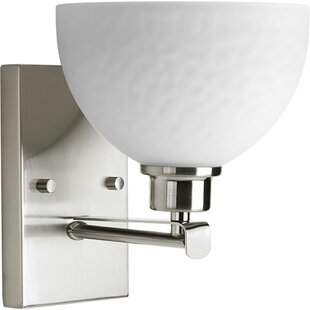 Pelovitz 1 Light Bath Sconce by Red Barrel Studio